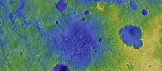 화성의 강 형성 비밀은 호수 범람