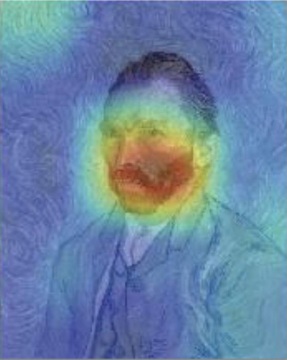빈센트 반 고흐의 자화상을 분석했다. 반 고흐 작품의 특징인 후기 인상파 특징을 AI를 통해 추출해내 과거 작품들과 비교하는 방식으로 전성기 이전을 분석했다. 노스웨스턴대 제공