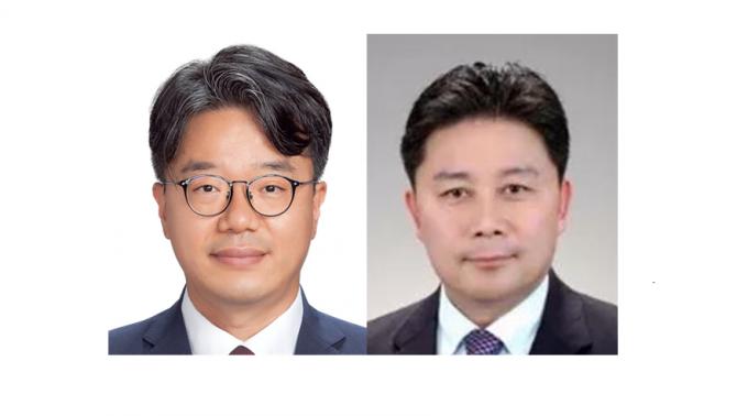 박종철(왼쪽) 삼성전자 마스터와 정종택(오른쪽) 카네비컴 대표가 '대한민국 엔지니어상' 9월 수상자로 선정됐다. 과기정통부 제공