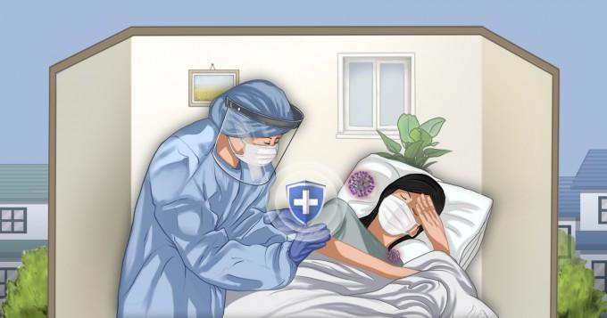 정부가 병상치료 효율화를 위해 신종 코로나바이러스 감염증(COVID-19·코로나19) 재택치료를 확대하겠다고 밝힌 가운데, 전문가들은 철저히 준비를 하지 않으면 재택치료가 오히려 독이 될 수 있다는 입장을 보이고 있다. 최근 일본 언론에서는 재택치료로 인해 과거에 비해 최근 50세 이하 젊은층이 코로나19로 감염하는 비율이 8배로 크게 늘었다는 보도가 나오기도 했다. 박은주/연합뉴스 제공