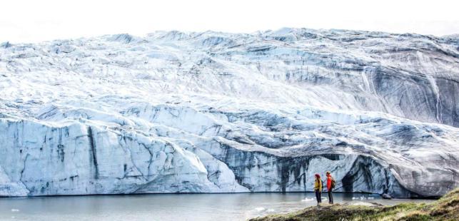 그린란드 지역 러셀 빙하. 과학기술정보통신부 제공