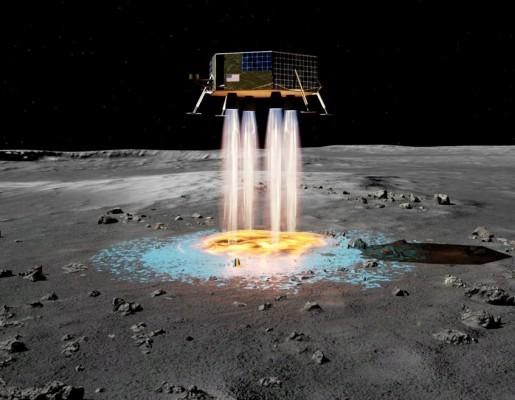 즉석에서 착륙장 만드는 달 착륙선 만들어진다