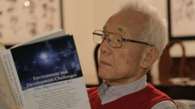 2021 노벨물리학상을 수상한 마나베 슈쿠로 미국 프린스턴대 교수. BBVA재단 제공