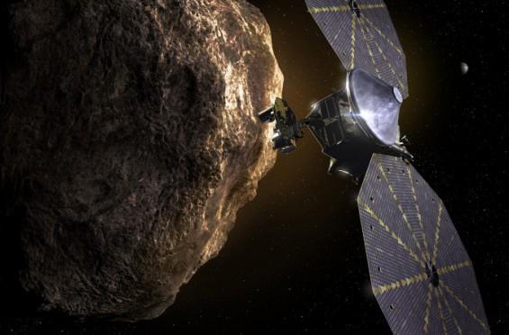 목성 궤도 트로이군 소행성 탐사선 '루시' 12년 대장정 올라