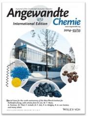 안게반테케미 지 (독일화학회지)에 실린, Max-Planck-Institut für Kohlenforschung 의 100주년 기념 표지.